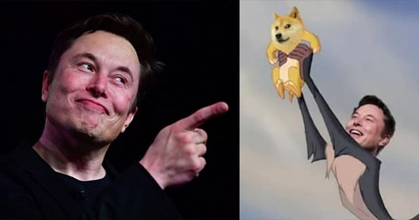 elon musk dogecoin spacex to moon