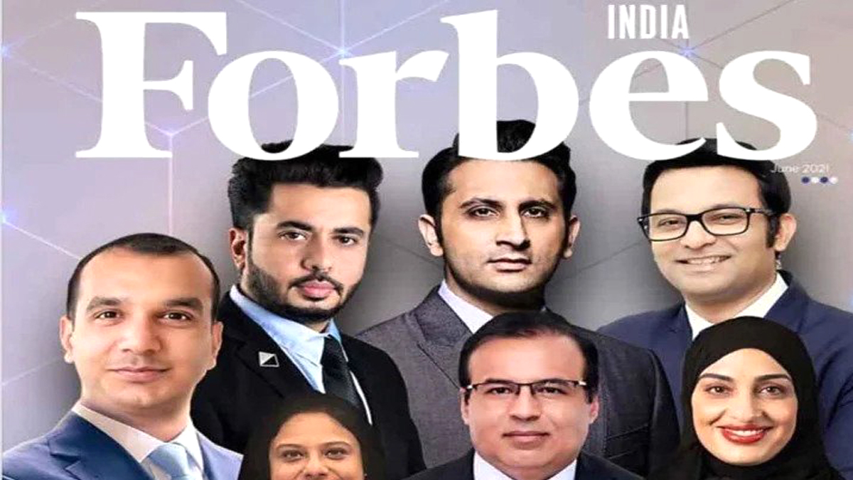 Red from Kanpur on the cover of Forbes India