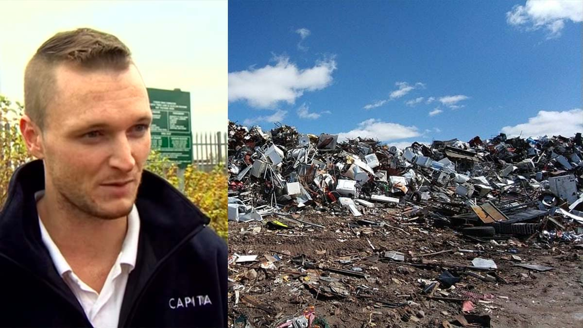 This man threw 300 Million Dollar Hard Disk is now searching again in the garbage heap