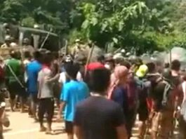 Firing took place on the Assam Mizoram border the CM of both the states blamed each other