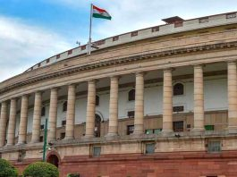 Monsoon session Opposition commotion adjourned proceedings