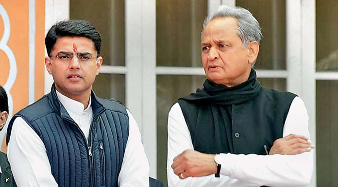 Rajsthan There may be a major reshuffle in the cabinet preference can be given to the youth