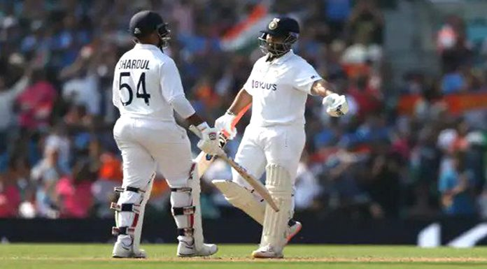 Eng Vs Ind Indias lead crosses 300 Test match going on amid the threat of Corona