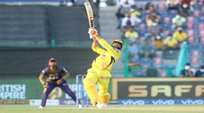 IPL 2021 CSK won in a thrilling match Chennai reached the top of the points table