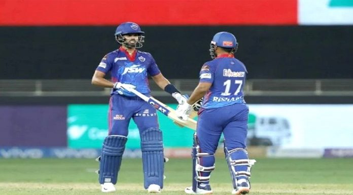 IPL 2021 Delhi won by 33 runs topped the points table