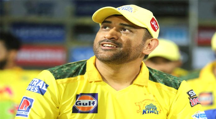 IPL 2021 Team Chennai Super Kings came out with 3 changes batting after losing the toss