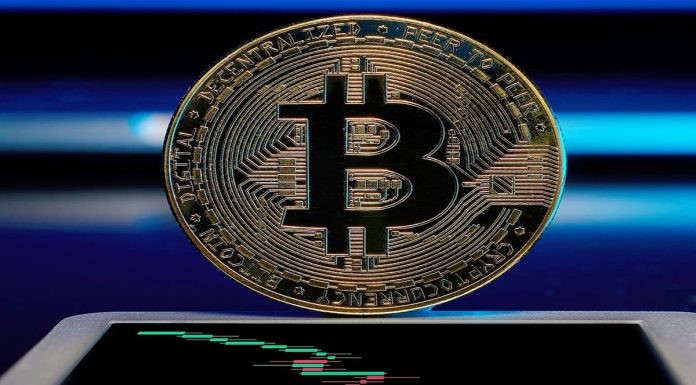 The rise in the price of bitcoin the price reached 66 thousand dollars