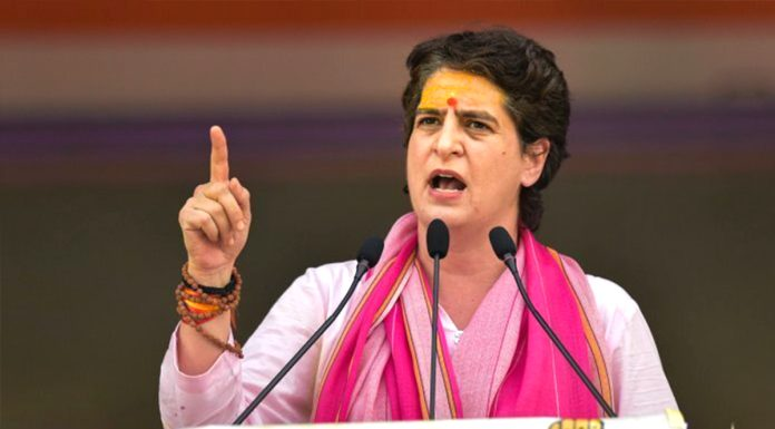 UP Congress will give tickets to more than 40 percent women Priyanka Gandhi announced